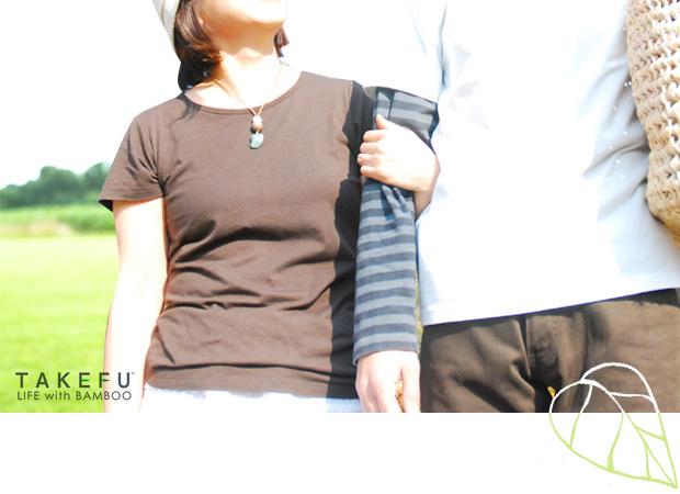 竹布Tシャツ 半袖 メンズ