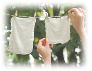 竹布 縫製 仕上げのこだわり 布ナプキン